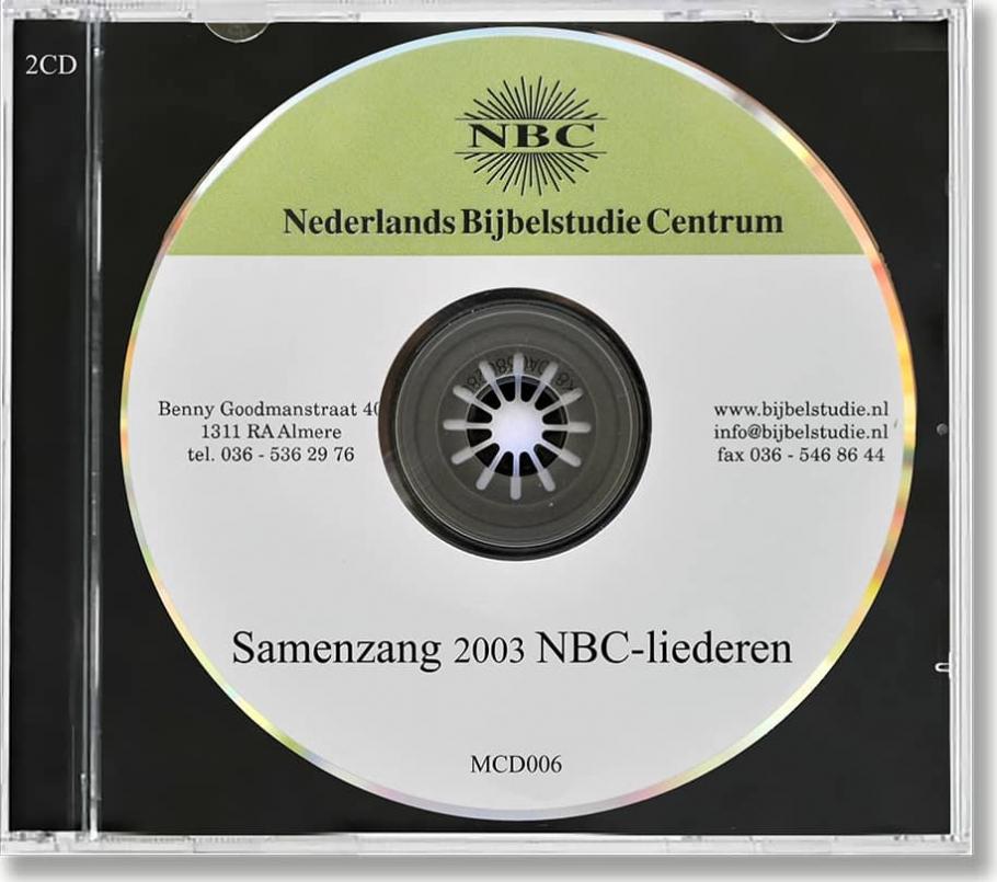 NBC - Samenzang 2003-NBC liederen