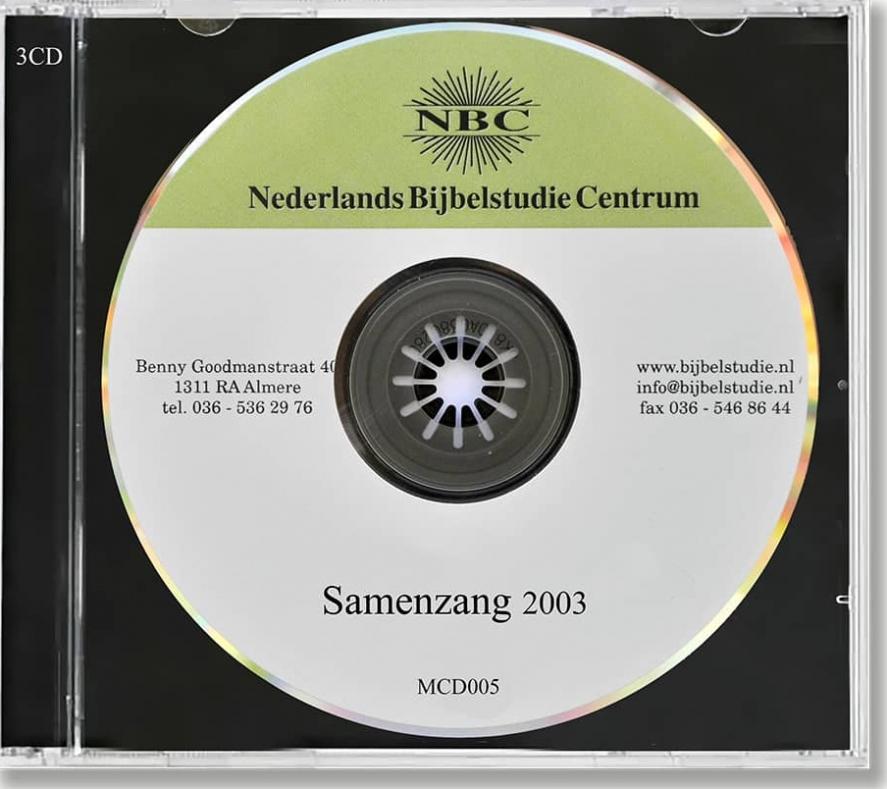 NBC - Samenzang 2003